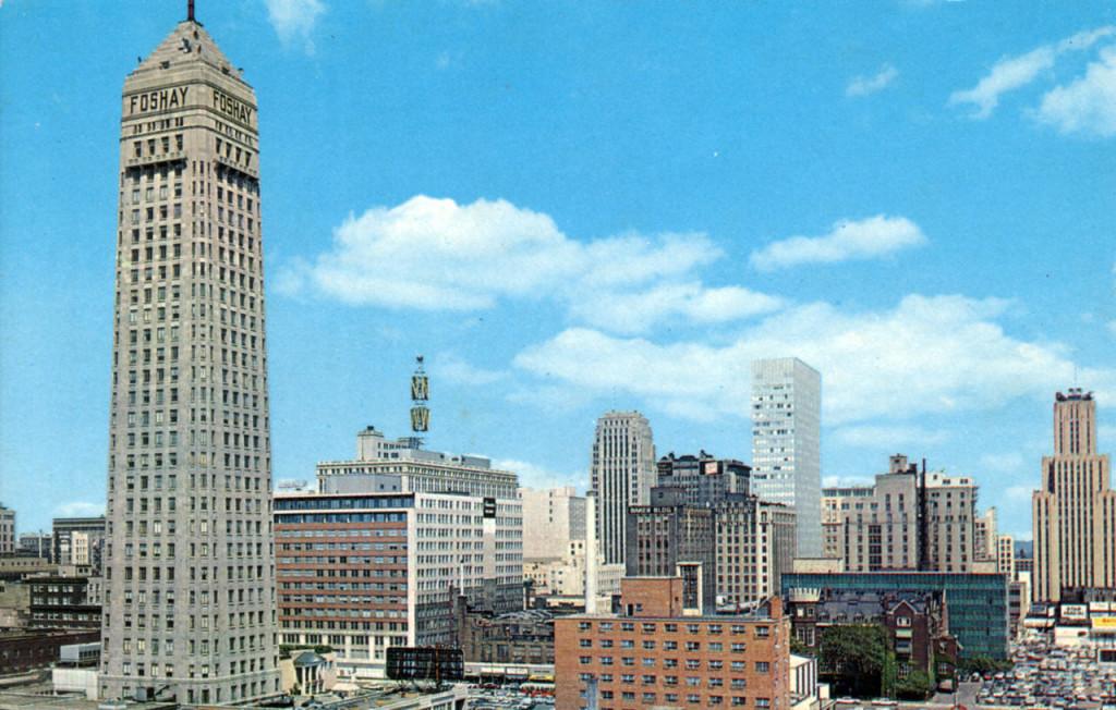 Mpls skyline late '60s