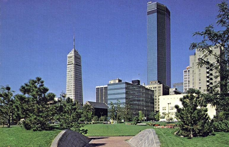 mpls skyline 1970s