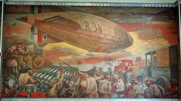 R-34 mural