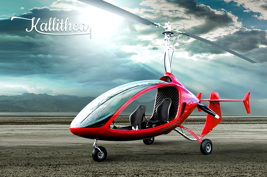 The Wonderful Machine Age - The Autogyro   CW Hawes